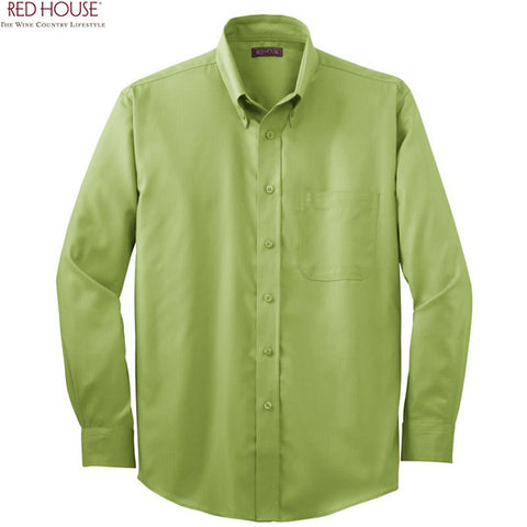 Red House  Herringbone Non Iron Button Down Shirt  RH38