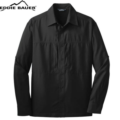 Eddie Bauer  Long Sleeve Performance Travel Shirt  EB604