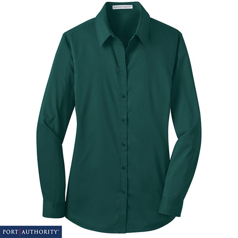 Port Authority Ladies Stretch Poplin Shirt  L646