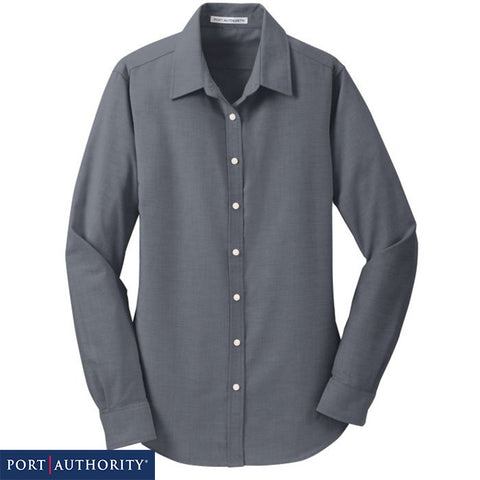NEW Port Authority Ladies SuperPro Oxford Shirt L658