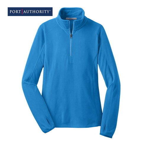 Port Authority Ladies Microfleece 1/2-Zip Pullover  L224