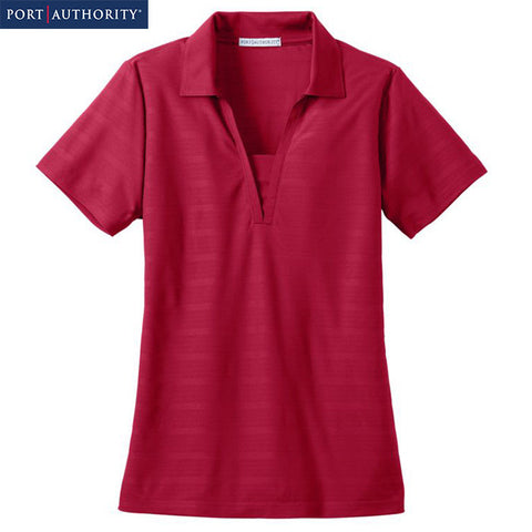 Port Authority Ladies Horizontal Texture Polo  L514