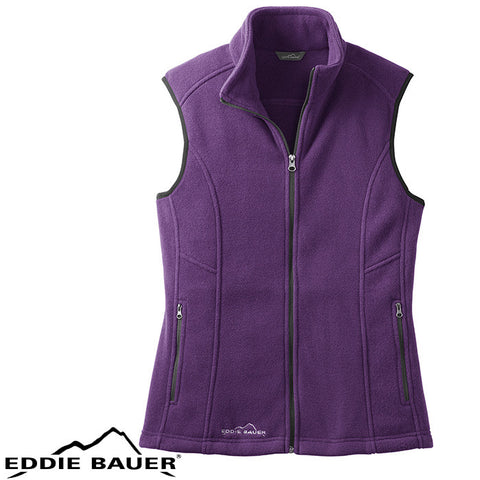 Eddie Bauer  Ladies Fleece Vest  EB205