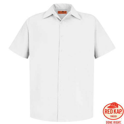 Red Kap  Short Sleeve Pocketless Gripper Shirt  CS26