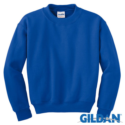 Gildan Youth Heavy Blend Crewneck Sweatshirt 18000B