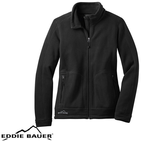 Eddie Bauer  Ladies Wind Resistant Full Zip Fleece Jacket  EB231