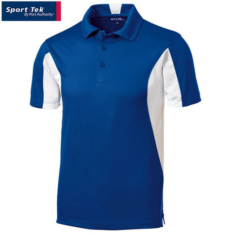 Sport Tek Side Blocked Micropique Sport Wick Polo  ST655