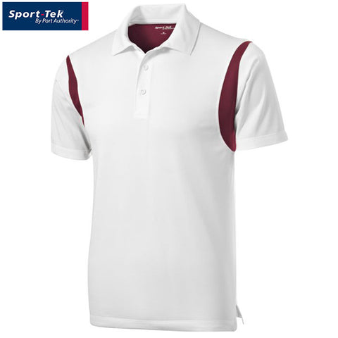 Sport Tek Back Blocked Micropique Sport Wick Polo  ST656