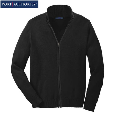 Port Authority Value Full Zip Mock Neck Sweater  SW303