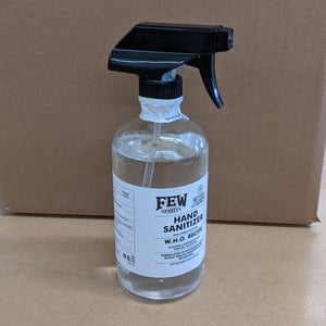 Single-Use Plastic-Free Policy Suspension for Hand Sanitizer During COVID-19 Pandemic