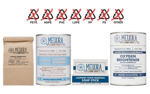 100% Plastic-Free Laundry by Meliora Cleaning Products