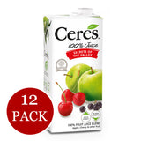 12-Pack Ceres Fruit Juice (12 x 1L)