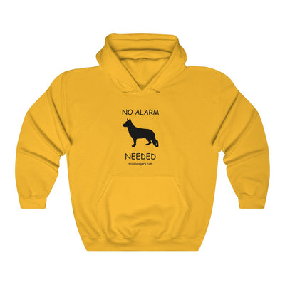 Unisex Hooded Sweatshirt – German Shepherd Security - Miss Booger's Pet Sitting & Supplies