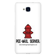 Huawei Honor 5C Phone case - 'Pee-mail server' Hydrant - Miss Booger's Pet Sitting & Supplies