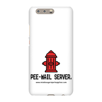 Huawei P10 Plus Phone Cases – 'Pee-mail server' Hydrant - Miss Booger's Pet Sitting & Supplies