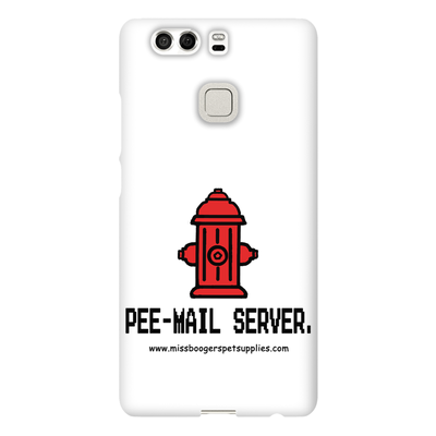 Huawei P9 Phone Cases – 'Pee-mail server' Hydrant - Miss Booger's Pet Sitting & Supplies