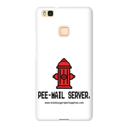 Huawei P9 Lite Phone Cases – 'Pee-mail server' Hydrant - Miss Booger's Pet Sitting & Supplies