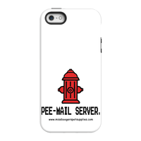 iPhone 5/5s Phone cases - 'Pee-mail server' Hydrant - Miss Booger's Pet Sitting & Supplies