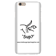 iPhone 6 phone cases - 'Sup?' Dogs - Miss Booger's Pet Sitting & Supplies
