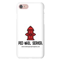 iPhone 7 phone cases - 'Pee-mail server' Hydrant - Miss Booger's Pet Sitting & Supplies