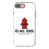 iPhone 7 Plus phone cases - 'Pee-mail server' Hydrant - Miss Booger's Pet Sitting & Supplies