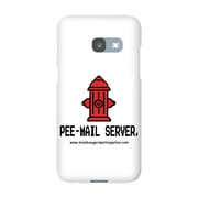 Samsung Galaxy A3 2017 Phone Cases - 'Pee-mail server' Hydrant - Miss Booger's Pet Sitting & Supplies