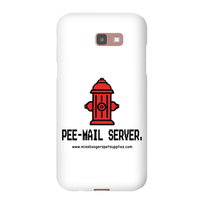 Samsung Galaxy A7 2017 Phone Cases - 'Pee-mail server' Hydrant - Miss Booger's Pet Sitting & Supplies