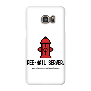 Samsung Galaxy s6-Edge Plus Phone Cases - 'Pee-mail server' Hydrant - Miss Booger's Pet Sitting & Supplies