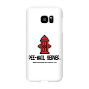 Samsung Galaxy s7 Edge Phone Cases - 'Pee-mail server' Hydrant - Miss Booger's Pet Sitting & Supplies