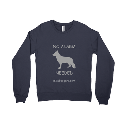 Black Crew-neck Sweatshirt - German Shepherd Security