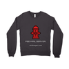 Unisex Crew-neck Sweatshirt –'Pee-mail server' Hydrant - Miss Booger's Pet Sitting & Supplies