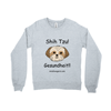 Crew-neck Sweatshirt - Shih Tzu – Gesundheit - Miss Booger's Pet Sitting & Supplies
