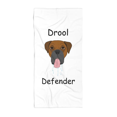 The Drool Defender Towel - Boxer