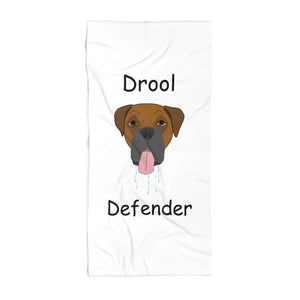 The Drool Defender Towel - Boxer - Miss Booger's Pet Sitting & Supplies
