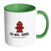 Accent Coffee Mug - 'pee-mail server' Hydrant - Miss Booger's Pet Sitting & Supplies