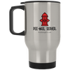 14 oz. Stainless Steel Travel Mug - 'Pee-mail server' Hydrant - Miss Booger's Pet Sitting & Supplies