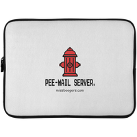 15 Inch Laptop Case - 'Pee-mail-server' - Miss Booger's Pet Sitting & Supplies