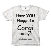 T Shirt - Hugga Corgi – Dog Hair Shirt - Miss Booger's Pet Sitting & Supplies