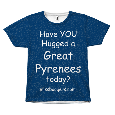 T Shirt - Hugga Great Pyrenees – Dog Hair Shirt - Miss Booger's Pet Sitting & Supplies