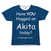 T Shirt - Hugga (An) Akita – Dog Hair Shirt - Miss Booger's Pet Sitting & Supplies