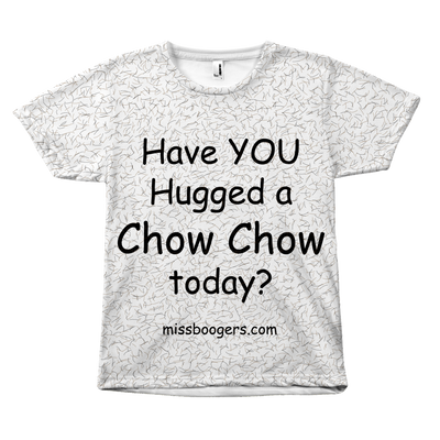 T Shirt - Hugga Chow-Chow – Dog Hair Shirt - Miss Booger's Pet Sitting & Supplies