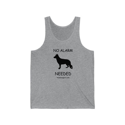 Unisex Jersey Tank Top – German Shepherd Security - Miss Booger's Pet Sitting & Supplies