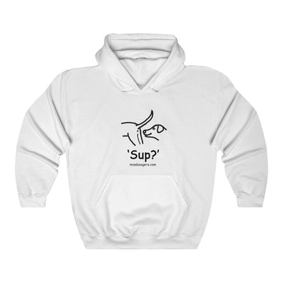 Unisex Hoodie – 'Sup?' Dogs - Miss Booger's Pet Sitting & Supplies