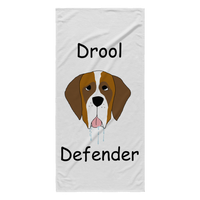 The Drool Defender Towel - St. Bernard - Miss Booger's Pet Sitting & Supplies