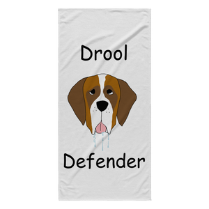 The Drool Defender Towel - Miss Booger's Pet Sitting & Supplies