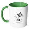 Dog Lovers Accent Coffee Mug - 'Sup?' Dogs - Miss Booger's Pet Sitting & Supplies