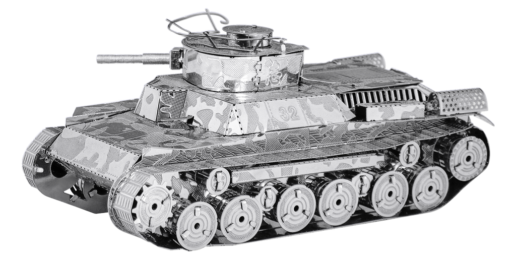 METAL EARTH  Tank - Chi Ha Tank