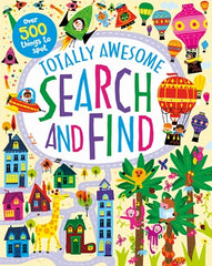 Totally Awesome Search & Find Puzzles - 128 Pages