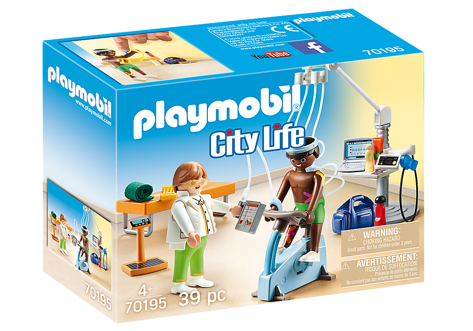 PLAYMOBIL - Medical - Physical Therapist - 70195