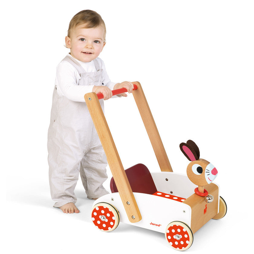 JANOD Crazy Rabbit Cart - Wooden WaLker